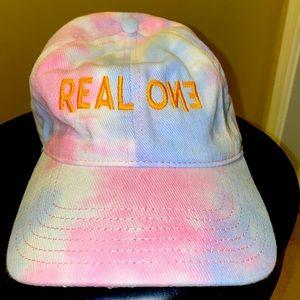 LUSU Designs Tie Dye Cap Real One Midas Label